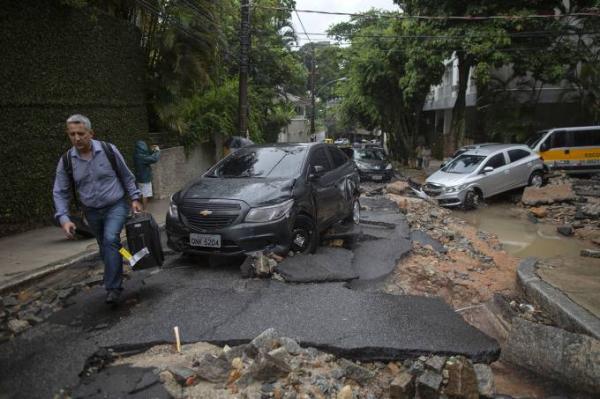 Sobe para 07 o número de mortos pelo temporal no Rio