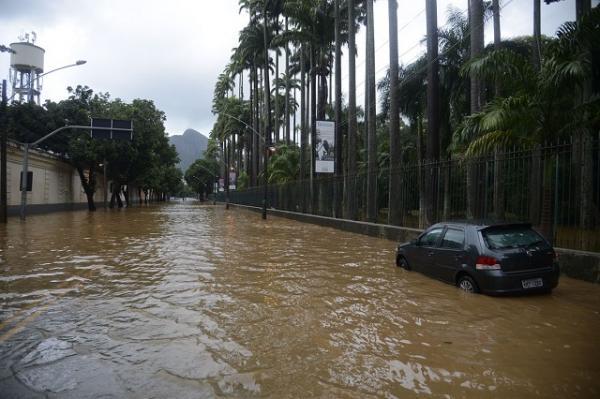Rio de Janeiro tem o maior volume de chuva em 9 anos
