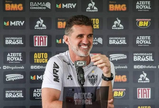 """Mancini projeta clássico entre Galo e Cruzeiro: """"Tensão fará parte do jogo"""""""
