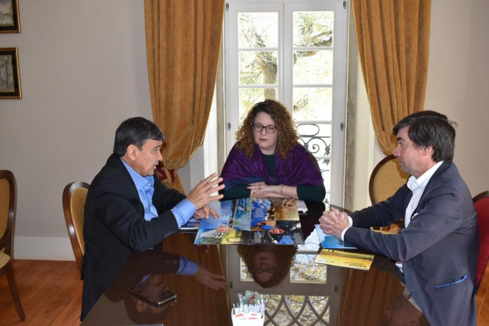 Na Europa, Governador Wellington Dias articula instalação de RESORT Internacional no Piauí