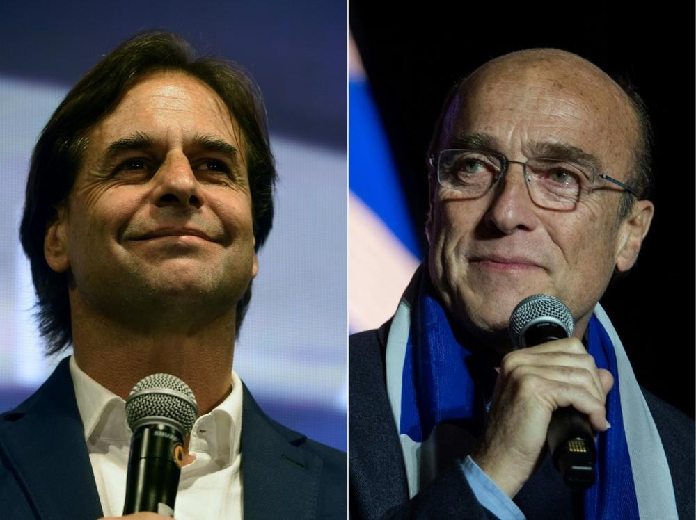 Com 97% das urnas apuradas no Uruguai, Lacalle Pou tem 50,7% e Martínez, 49,3%