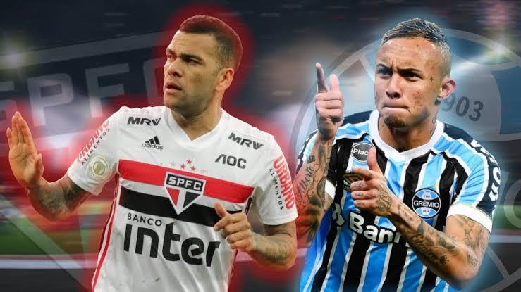 São Paulo tem má recordação de duelo com Grêmio no ano passado