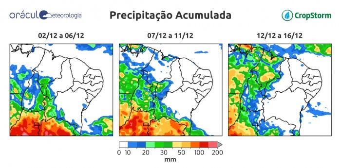 Situação é preocupante no Piauí; Previsão indica chuva mais abrangente no MATOPIBA