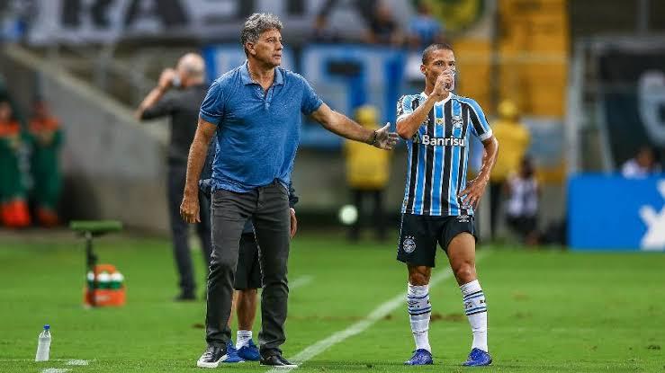 """Matheus Henrique revela pedido de Renato para quinta-feira: """"Dar a vida"""""""