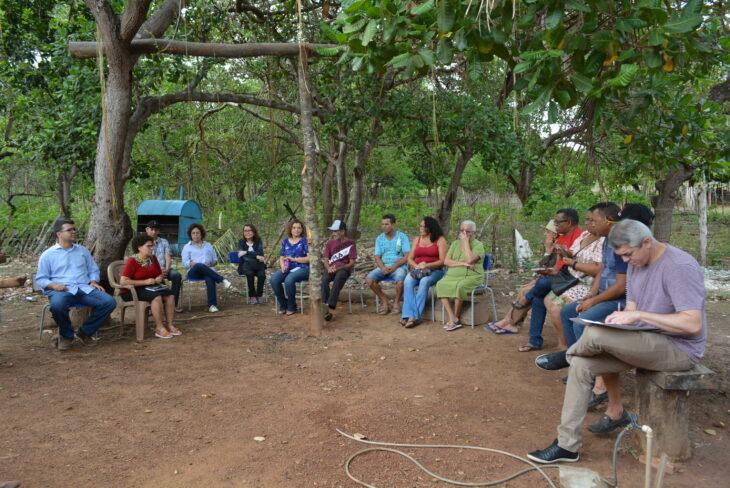 Vice-Governadora Regina Sousa dá celeridade na regularização de terras para os índios de Piripiri