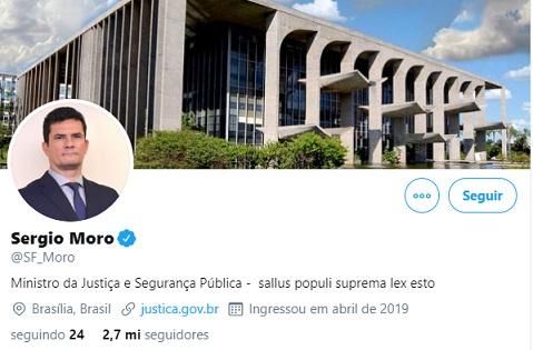 """Moro responde Bolsonaro: """"Há lealdades maiores do que as pessoais"""""""