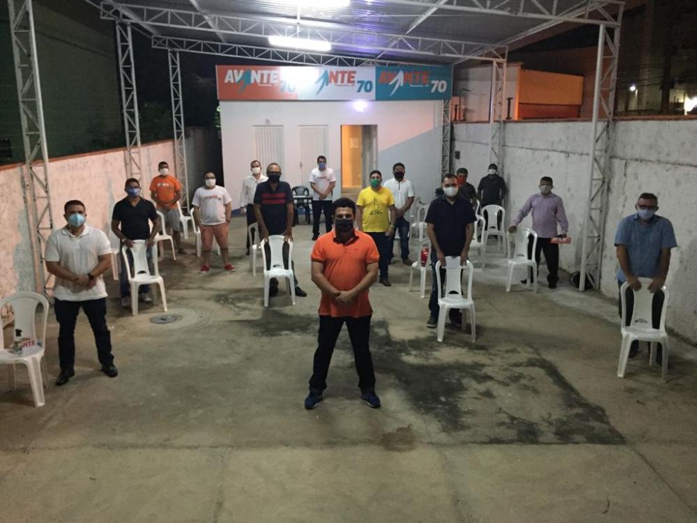 Avante no Piauí, faz a Primeira reunião de Pré-Candidatos Presencial.