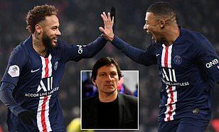 Leonardo fala sobre permanência de Neymar e Mbappé no PSG