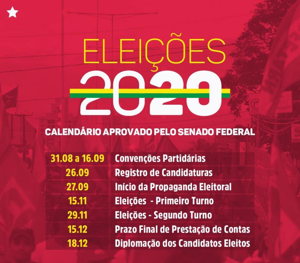 Senado aprova adiar eleições municipais para novembro sem estender mandatos