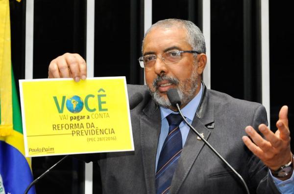 COBAP e Senador Paulo Paim sacramentam abertura da CPI da Previdência.